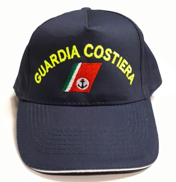 ultima collezione la più grande selezione di Vendita di liquidazione Cappello Guardia Costiera scritta mezza luna