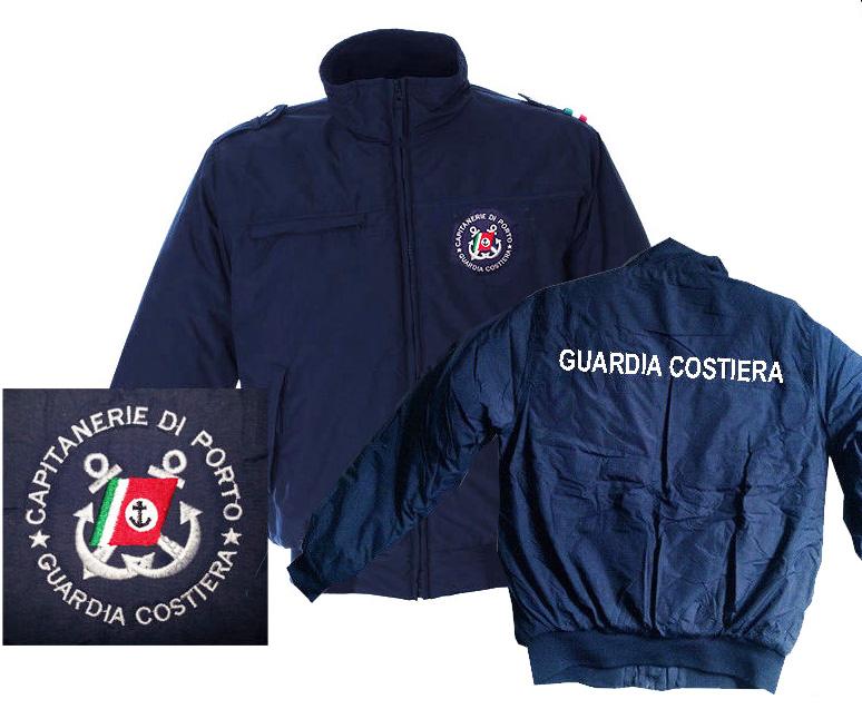 stile unico aspetto estetico la più grande selezione di Giubbino invernale Guardia Costiera Capitanerie di porto